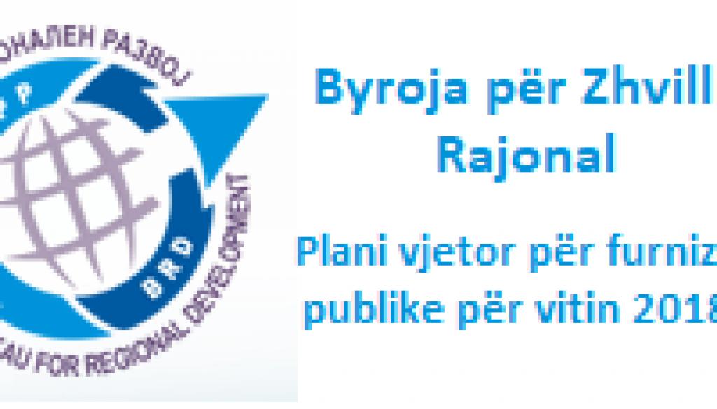 Plani vjetor për furnizime publike për vitin 2018